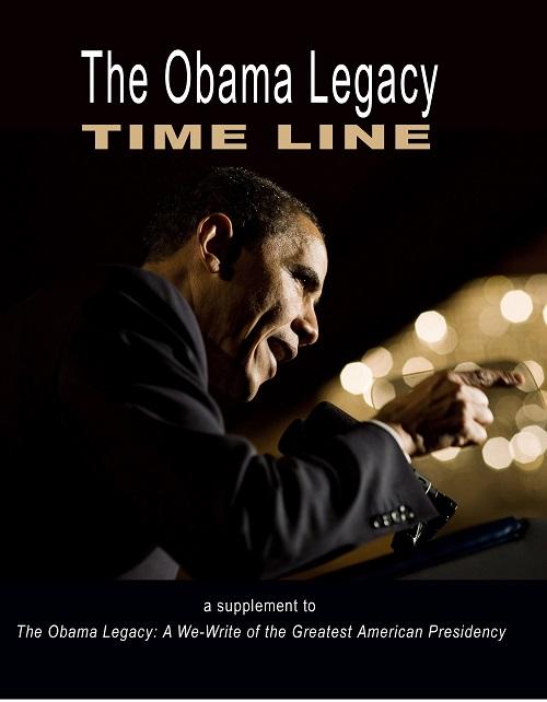 Obama Legacy Timeline cover